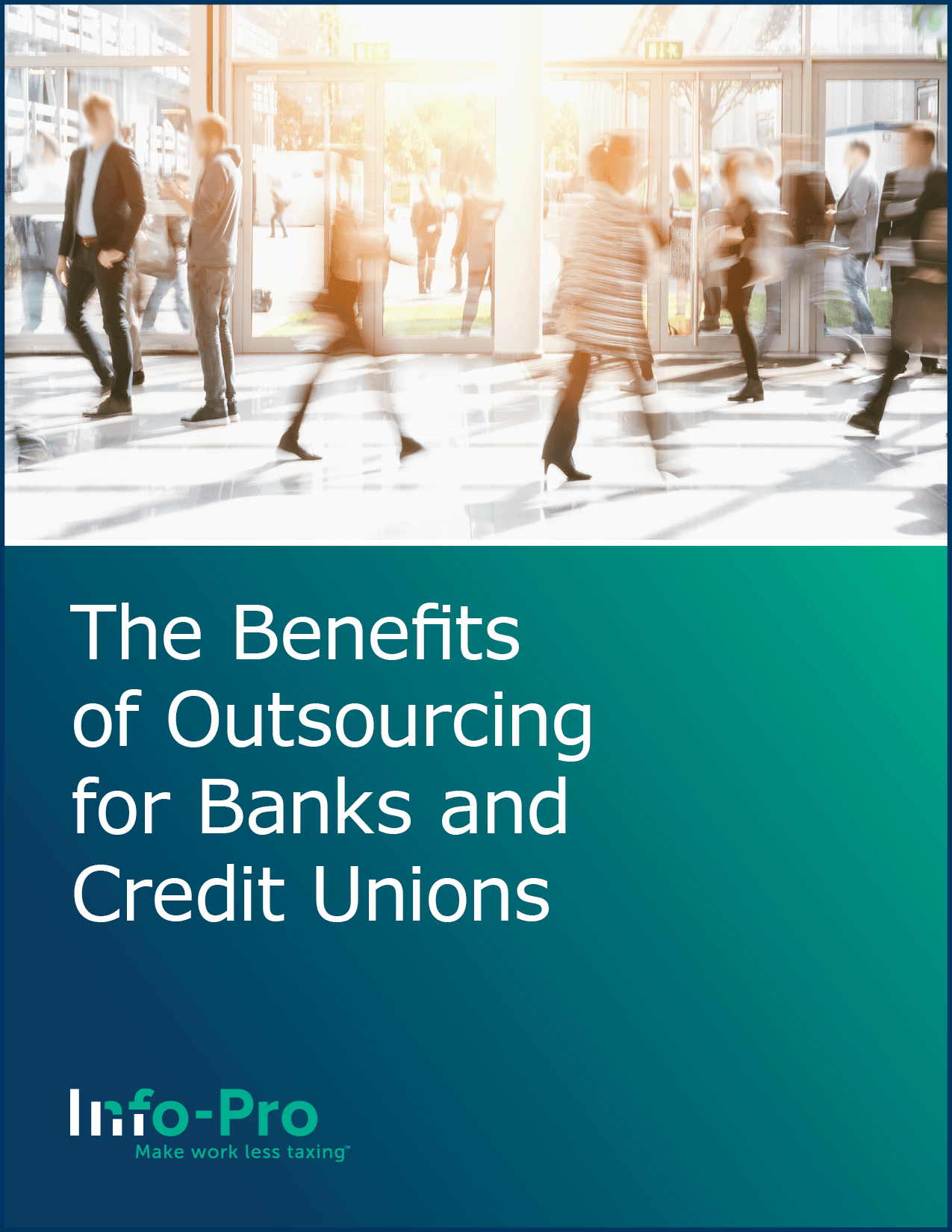 The Benefits of Outsourcing for Banks and Credit Unions eBook