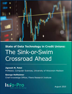 eBook: State of Data Technology in Credit Unions: The Sink-or-Swim Crossroad Ahead
