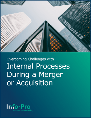 Overcoming challenges with internal processes during a merger or acquisition