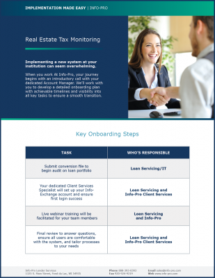 Real Estate Tax Monitoring Made Easy